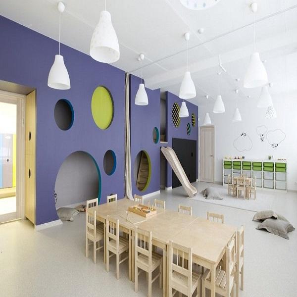 Koks turi būti mažo vaiko kambarys?