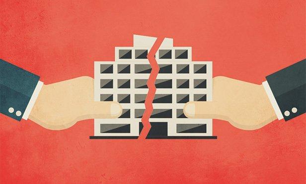 Skyrybos bendru sutarimu turint bendrą verslą