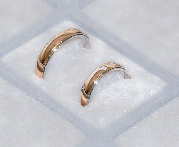 Kokius žiedus rinktis vestuvėms?
